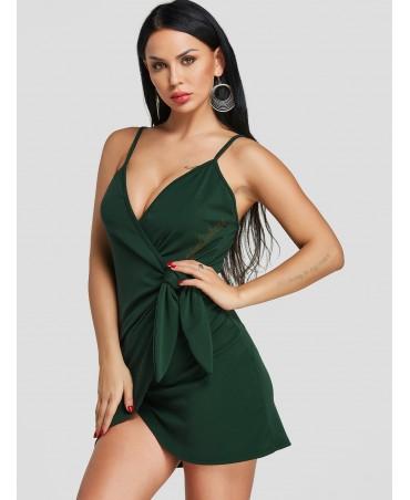 Green packaging design mini skirt