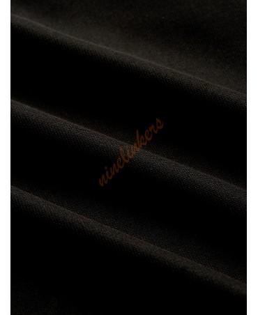 Black backless lace sleeveless jumpsuit
