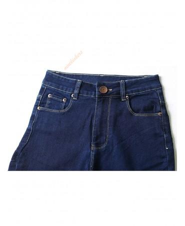 Blue skinny jeans