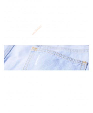 Split tight jeans
